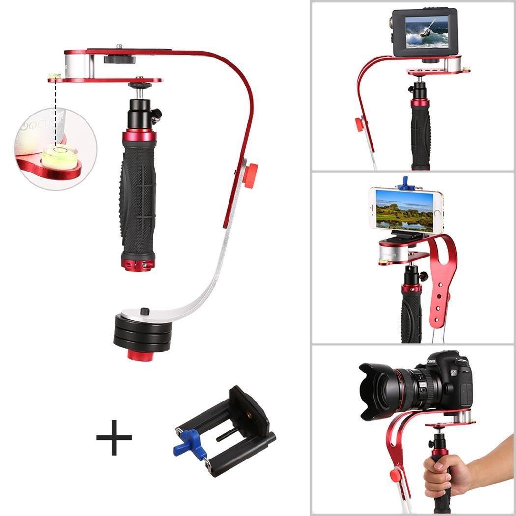 dtempleハンドヘルドビデオビデオカメラカメラスタビライザーfor Nikon / Cannon / Sony / Lumix DMC - / Pentax   B076F46Z7G