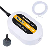 Uniclife Quiet10 Aquarium Air Pump with Accessories for 30L Fish Tank