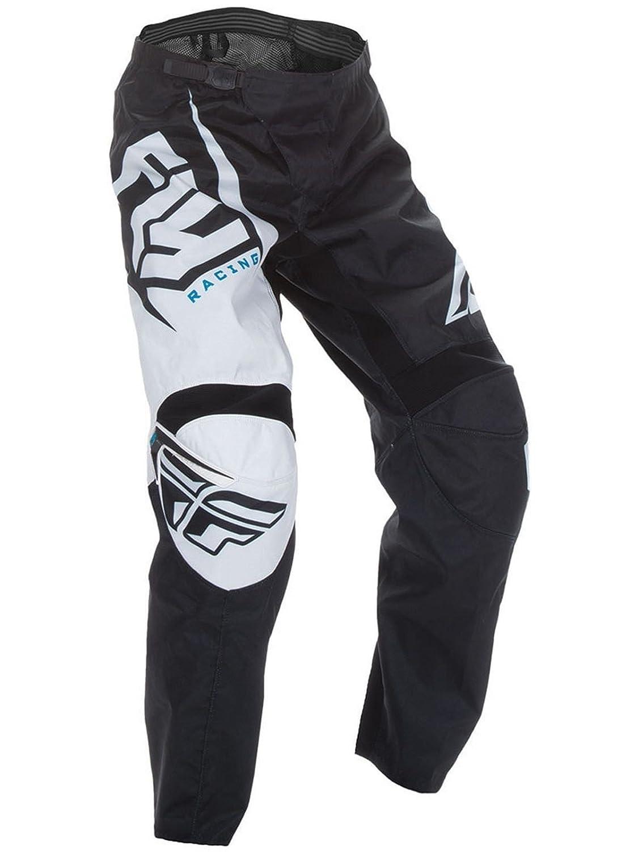 Pantalones Fly Racing 2017 F-16 de motocross o bicicleta de montañ a para adultos, blanco y negro 794811925101
