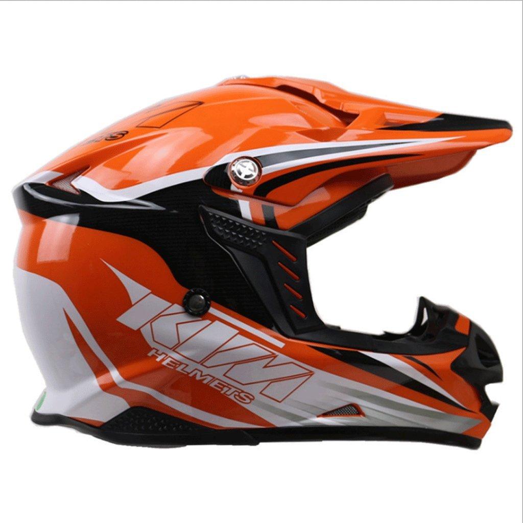 オフロードヘルメットヘルメットオートバイレーシングプロの日焼け止め日焼け止めヘルメットフルカバーヘルメット (サイズ さいず : XXL) B07PBD65HG Medium  Medium