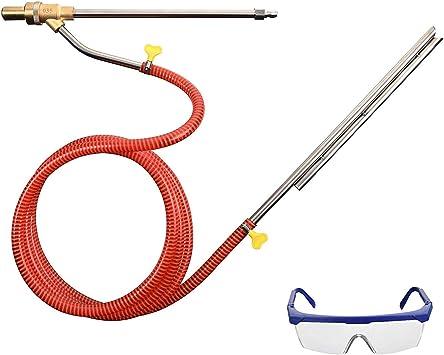 Pressure Washer Sand Blasting Kit for Karcher K2,Professional DIY Wet Sand Blaster Kit Home Pressure Washer with Hose