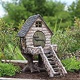 Miniature Fairy Garden River Birch Tree house