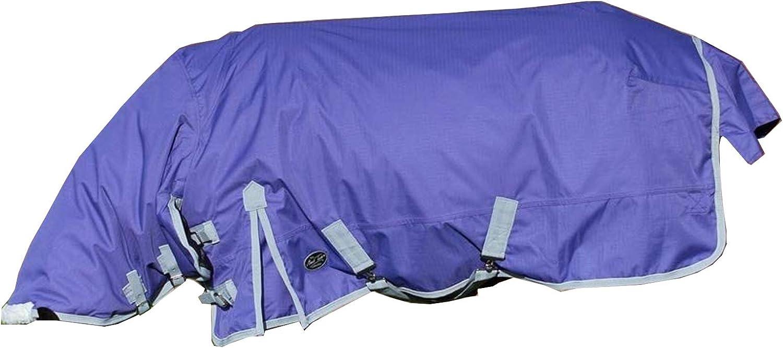 Mark Todd Pony Turnout Rug Lightweight Purple//Grey 4 9
