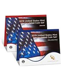 2019 Various Mint Marks US Mint Set 2019 uncirculated coin set 19rj Brilliant Uncirculated