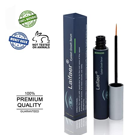 Brow Serum for Long, Luscious Lashes and Eyebrows.Eyelash Growth Serum for Lash and Brow Irritation Free Formula Eyelash Growth Enhancer