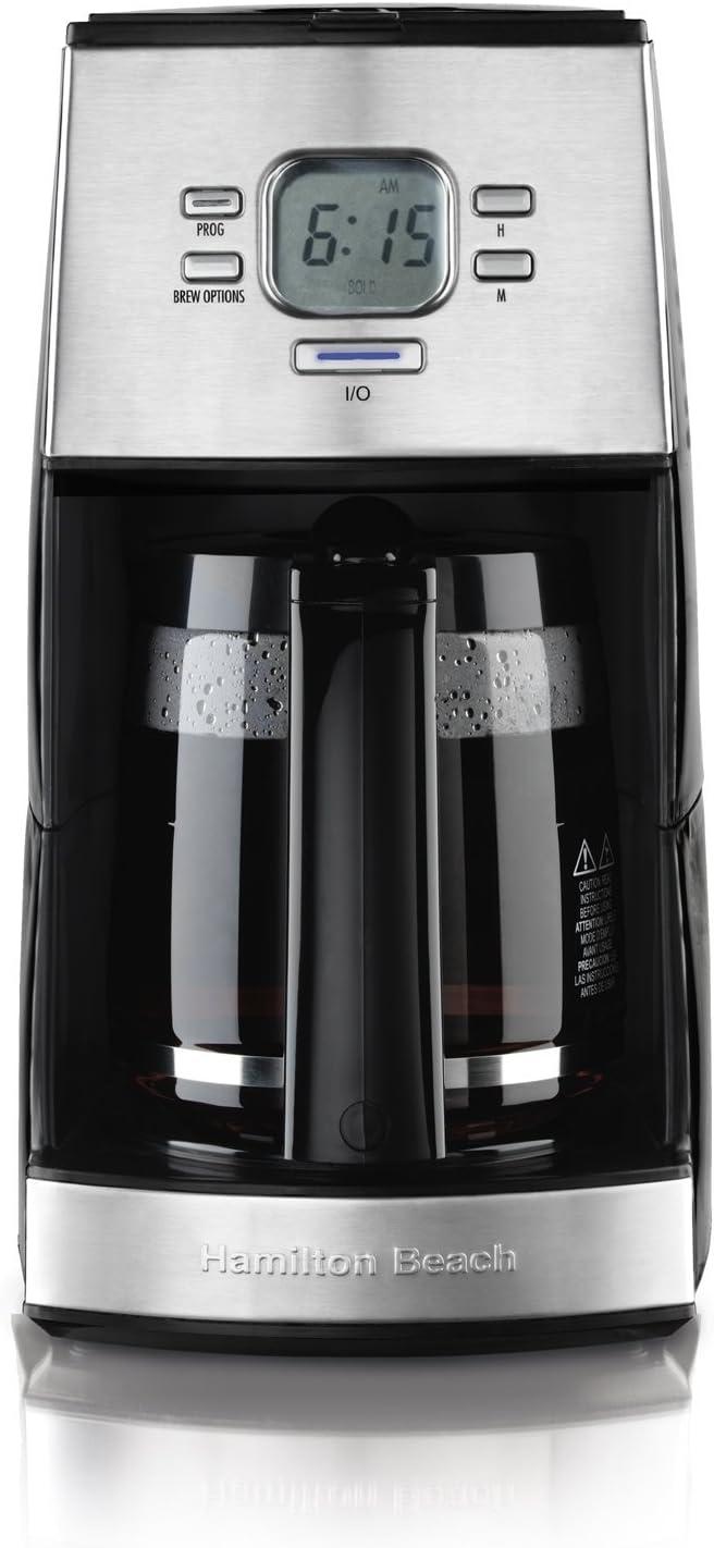 Hamilton Beach 12-Cup Coffee Maker, Ensemble (43254R) (Renewed)