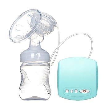 BVC Sacaleches Extractor De Leche Materna Eléctrico - con Cable USB, Prevención De Reflujo, MZ-602,Blue: Amazon.es: Hogar
