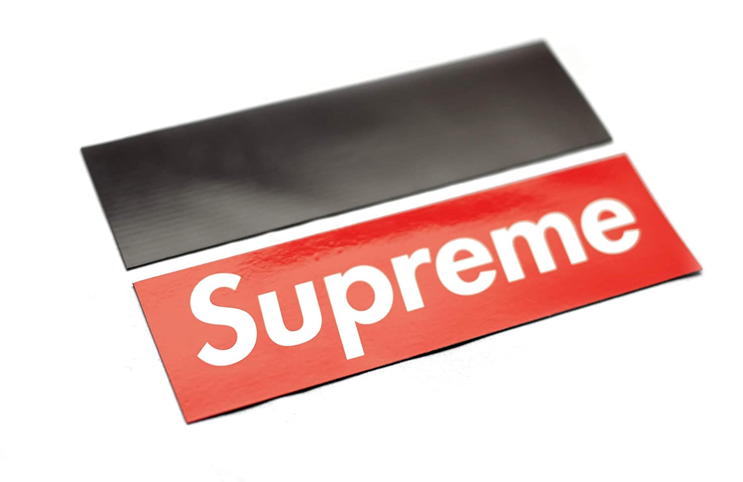Supreme box logo sticker 7 25 inches x 2 inches 1 amazon ca home kitchen