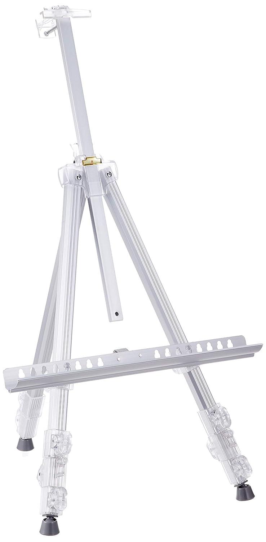 Tarensu Metall Staffelei Drei-Stufen-Silber 494463