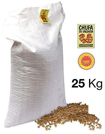 25 KG. CHUFA TRADICIONAL MÓN ORXATA. Saco rafia blanca. A granel ...