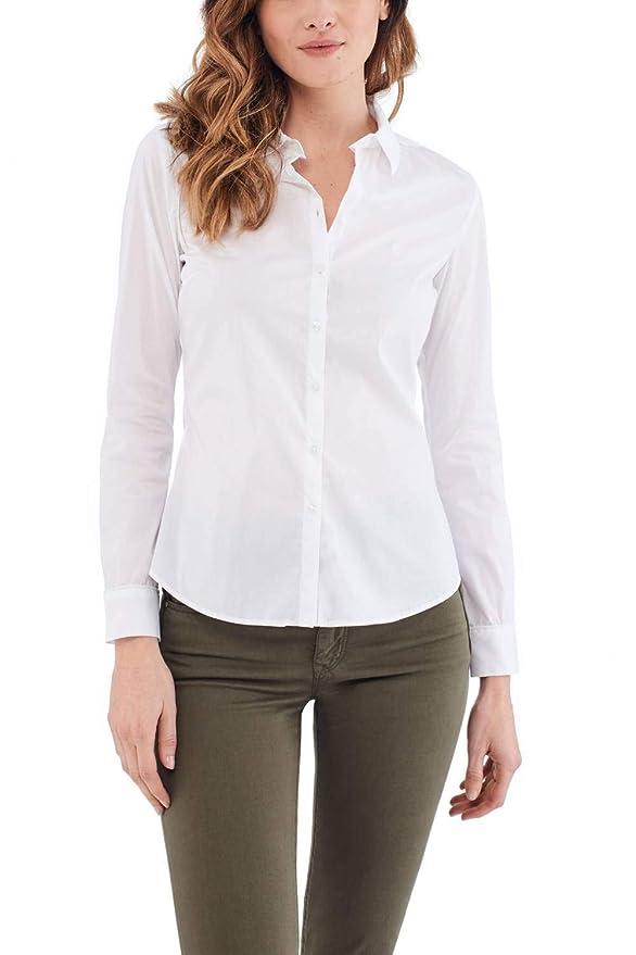Salsa Camisa fit Regular de popelín: Amazon.es: Ropa y accesorios