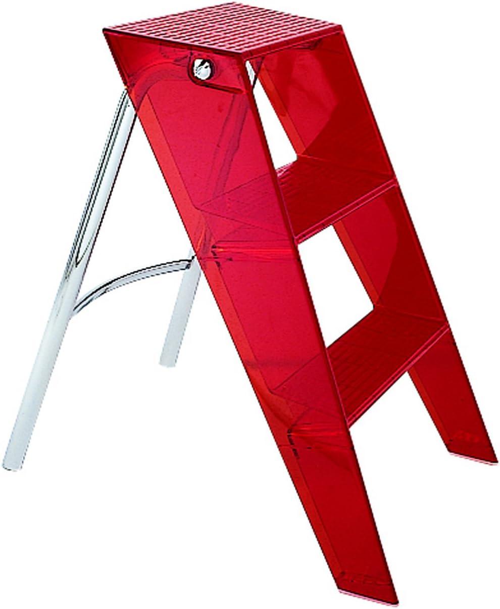 Escalera peque/ña Plegable Color Rojo Kartell 703071 Upper