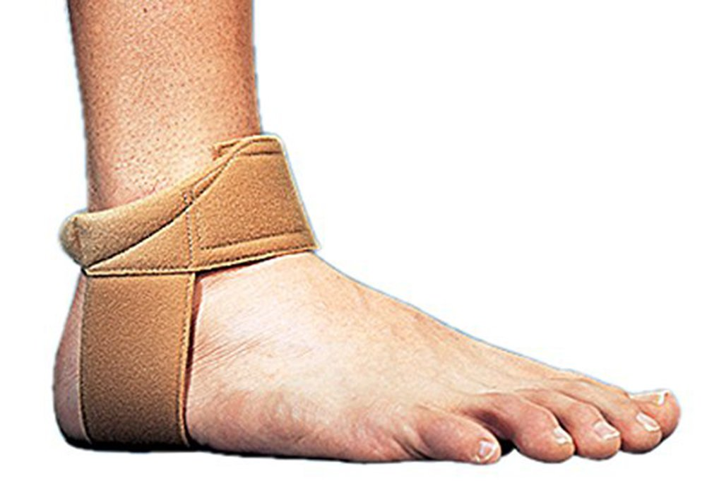 Cho-Pat Achilles Tendon Strap - Developed w/Sports Medical Professionals at Mayo Clinic to Reduce Stress & Alleviate Achilles Tendonitis Pain - Tan (Large, 11.5''-12.5'')