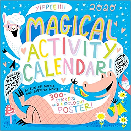 Magical Activity 2020 Wall Calendar