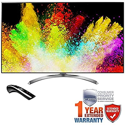 LG SJ8500 Super UHD 4K HDR Smart LED TV 2017 Model with Additional 1 Year Extended Warranty