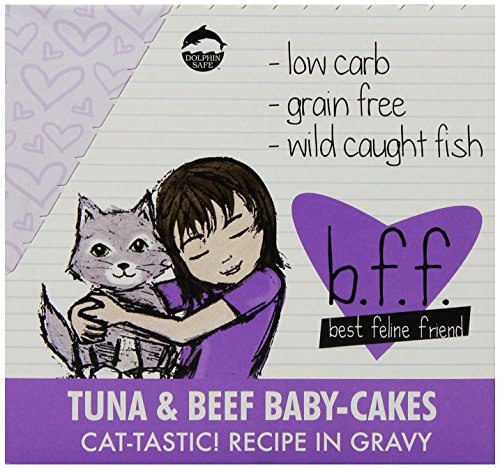 B.F.F. - Best Feline Friend, Tuna & Beef Baby Cakes with Tun