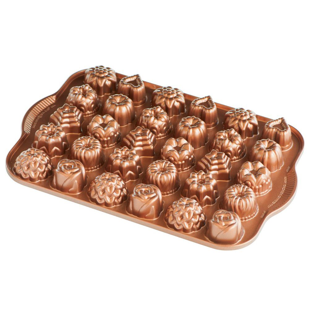 Nordic Ware Cast-Aluminum Nonstick Tea-Cake and Candy Mold by Nordic Ware