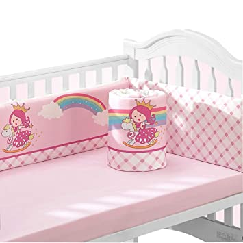 1pc Baby Crib Bumper Infant Cot Cradle Guard Breathable Newborn Bed Protector