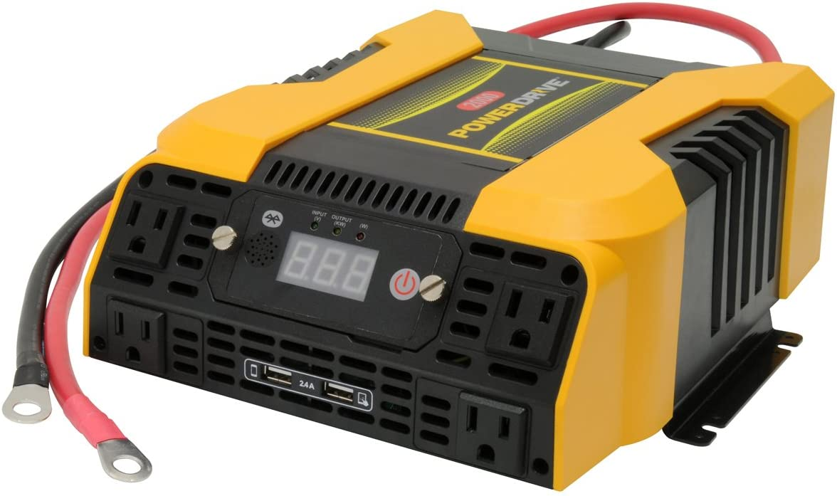 PowerDrive PD2000 2000W Power with Bluetooth Inverter