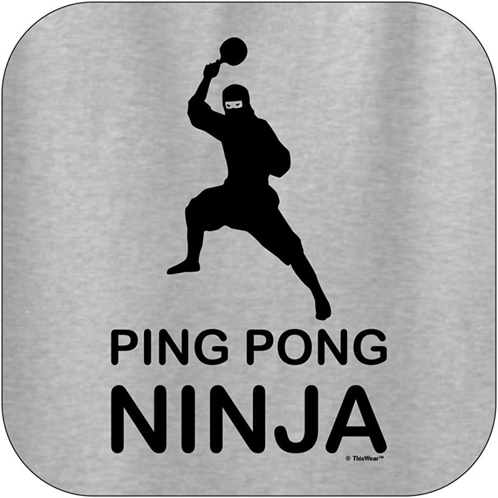 Amazon.com: Ping Pong regalo Ninja Player Funny playera de ...