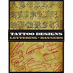 Tattoo Designs: Lettering and Banners (Tattoo-U)
