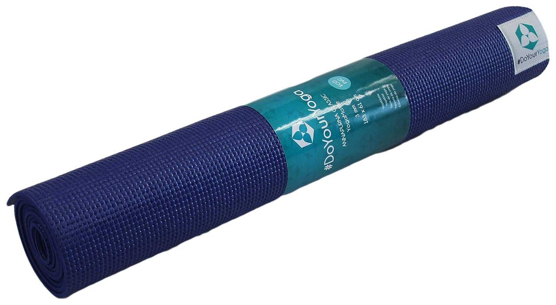 DoYourYoga Set de Yoga: Esterilla de Yoga de PVC 183 x 61 x ...