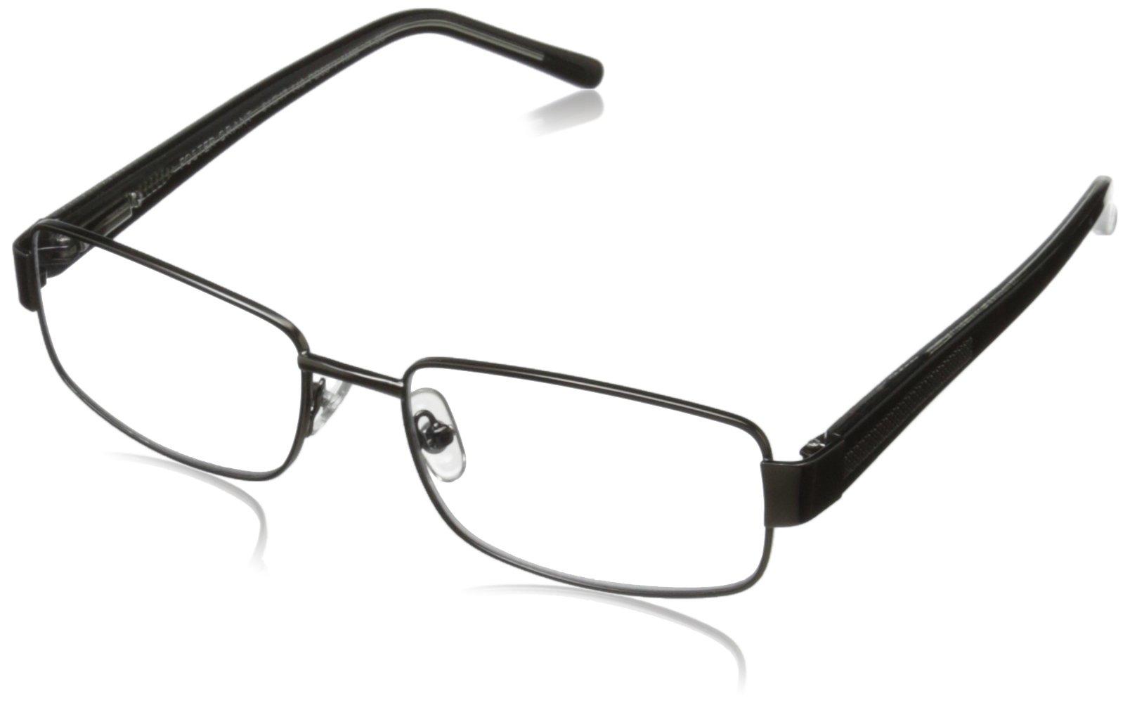 Foster Grant Wes Men's Multifocus Glasses, Gunmetal, 2.5