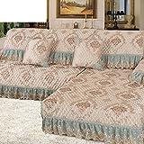 Sofa General fabric sofa towel Slip sofa cushions-B 90x260cm(35x102inch)
