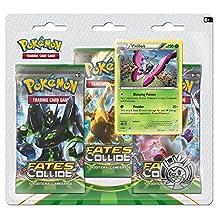Pokemon XY-Fates Collide Three-Booster Blister with Vivillon