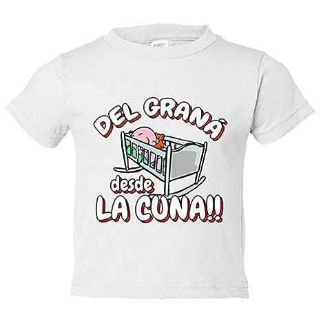 Camiseta niño del Graná desde la cuna Granada fútbol - Blanco, 3-4 años