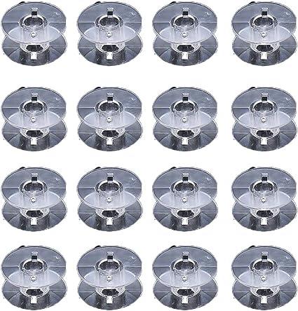 10 to 50 Plastic Sewing Machines Bobbins Fit Many Elna Models