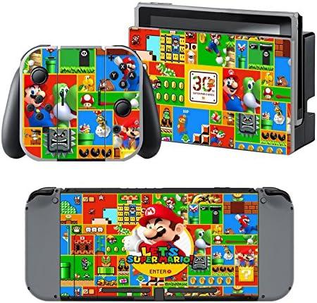 Super Mario 30 Aniversario - Pegatina Nintendo Switch - 1 ...