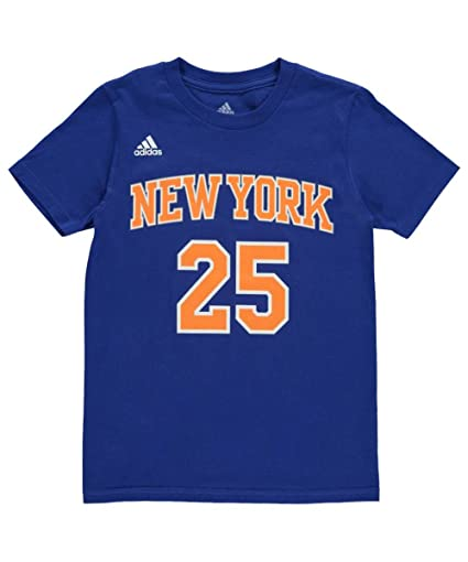 Amazon.com   adidas Derrick Rose  25 New York Knicks NBA Youth Game ... e28406422