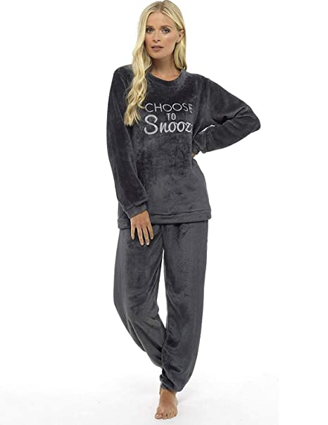 7b1b4d8eec Pijama de pijamas cómodos pijamas Snuggle pijamas cálidos pijama Twosie Set
