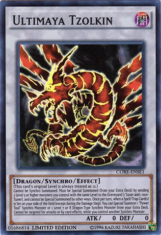 Crimson Dragon (Yu-Gi-Oh! - Ultimaya Tzolkin (CORE-ENSE1) - Clash of Rebellions: Special Edition - Limited Edition - Super)