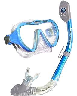U.S. Divers Lady Starlet LX Mask/Tucson Snorkel