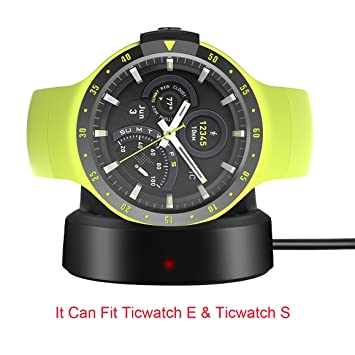 Ceston Cargador Charger para Smartwatch Ticwatch E/Ticwatch S ...