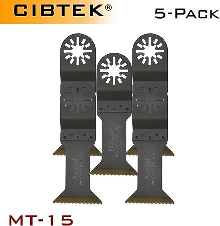 """10 x 1-3//4/"""" Titanium Bi-Metal Oscillating Tool Blades Milwaukee Multi Tool"""