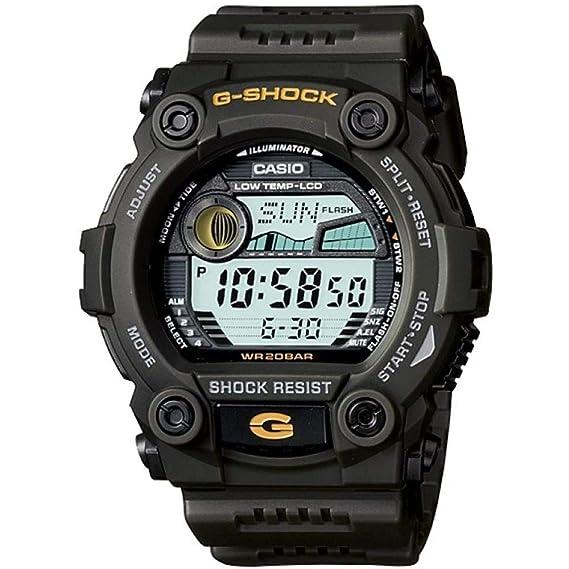 Casio G-7900-3DR - Reloj (Reloj de Pulsera, Resina, Negro, Gris, Resina, Negro, Mineral)