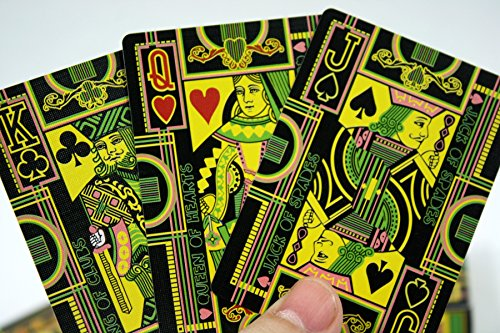 The Hallucinatory Deck of Playing Cards – Standard Deck of NON-Glowing Meant to Drive You Crazy
