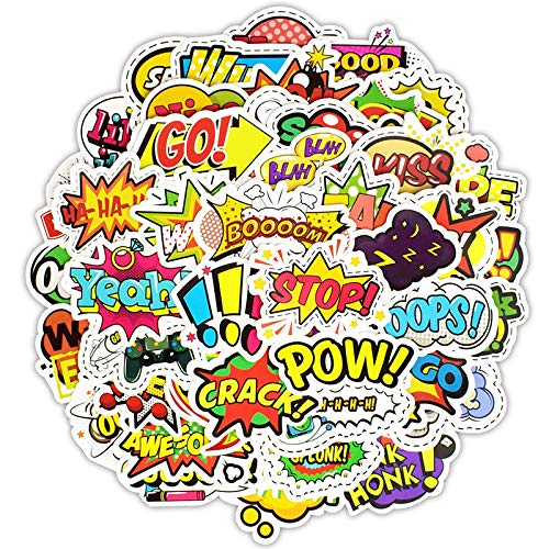 Pop Doodle Stickers Personality Creative Stickers Car Guitar Skateboard Motorcycle Bumper Luggage Decal Graffiti Patches, ()