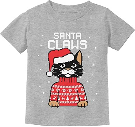 : TeeStars Santa Claws Cat Ugly Christmas