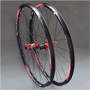 MZPWJD MTB Juego Ruedas para Bicicleta Montaña 26 27.5 29 In ...