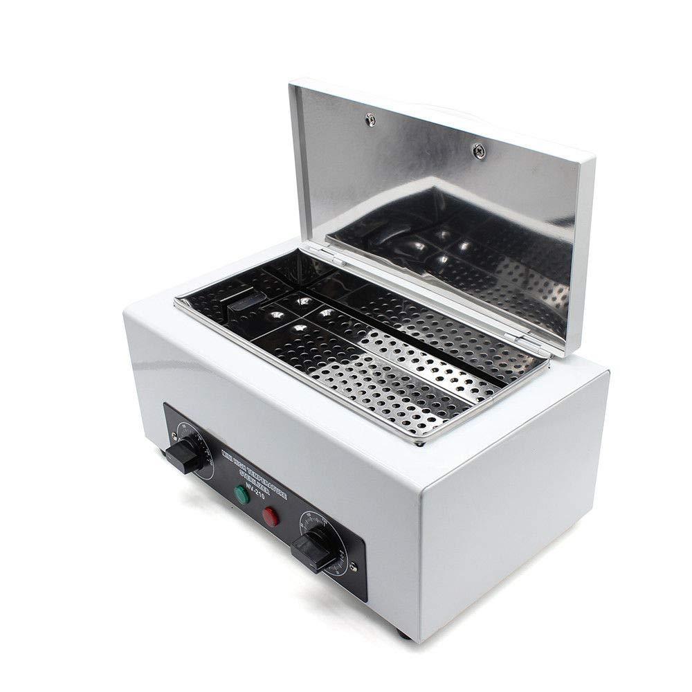 Esterilizador de calor Autoclave con temporizador Esterilización de herramientas de belleza para salón de belleza Manicure Peluquería estudio y en casa SHIOUCY