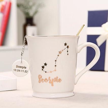 amazon com wu mug the nordic couples cup creative 12 constellations