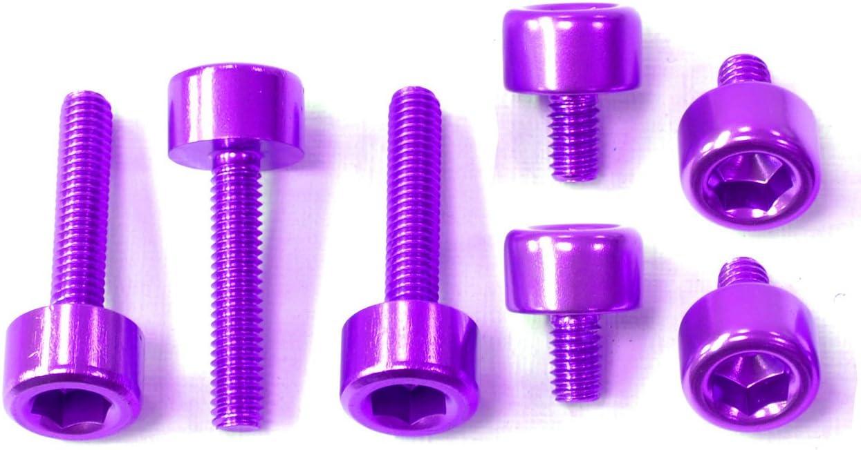 Kit Torniller/ía Tap/ón Dep/ósito Pro Bolt Aluminio TOAP80