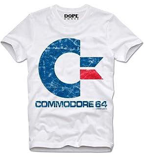 DOPEHOUSE T Shirt C64 Commodore Amiga Atari Nerd Gamer Gaming Retro
