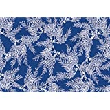 Caskata Studio Boston International 40 Count Paper Placemats, Cedar Blue