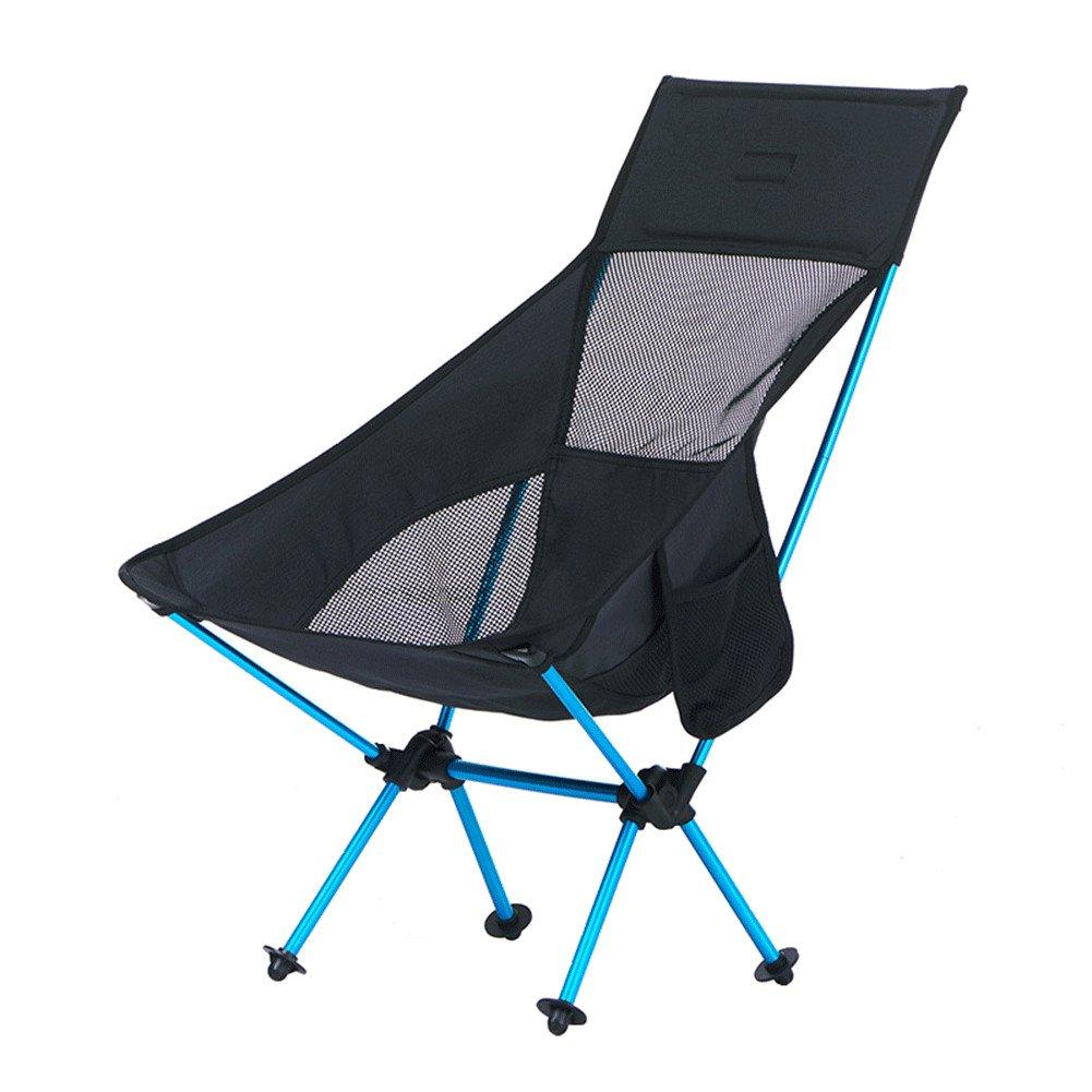 QINAIDI Camping Stuhl Leichte Klappstuhl Mit Tragetasche Für Wandern, Angeln, Outdoor Klappstuhl Strand Freizeit Mond Stuhl