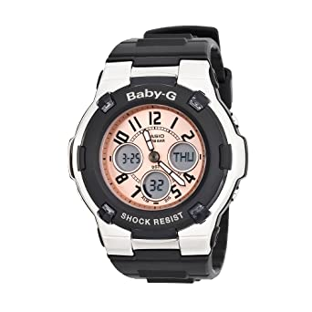 203566e85fd2 Casio Women s Baby-G Watch BGA110-1B  Casio  Amazon.co.uk  Watches